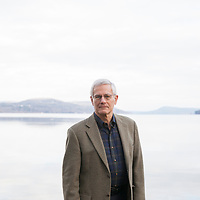 Louis Allstadt, photographed at Council Rock Park by Otsego Lake in Cooperstown, NY, on December 8, 2016.  Allstadt is a town trustee for Cooperstown, and is credited with influencing the recent divestiture movement.