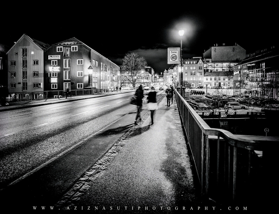 www.aziznasutiphotography.com                   Bakke bry bridge in Trondheim, Norway