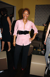Singer TERRI WALKER at the launch party for the 'Second Floor at Kettner' 29 Romilly Street, London W1 on 4th May 2006.<br /><br />NON EXCLUSIVE - WORLD RIGHTS