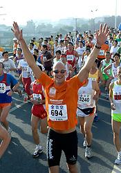 21-10-2007 ATLETIEK: ANA BEIJING MARATHON: BEIJING CHINA<br /> De Beijing Olympic Marathon Experience georganiseerd door NOC NSF en ATP is een groot succes geworden / Marcel Wouda<br /> ©2007-WWW.FOTOHOOGENDOORN.NL