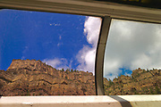 Scenic views, windows Amtrak leisure cars