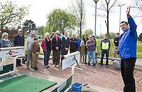 VIJFHUIZEN - Open Golf Dag op Haarlemmermeersche Golf Club olv Wouter Voskamp.  De kans om kennis te maken met  golf. COPYRIGHT KOEN SUYK