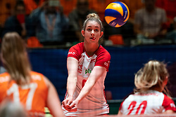 30-05-2019 NED: Volleyball Nations League Netherlands - Poland, Apeldoorn<br /> Magdalena Stysiak #9 of Poland