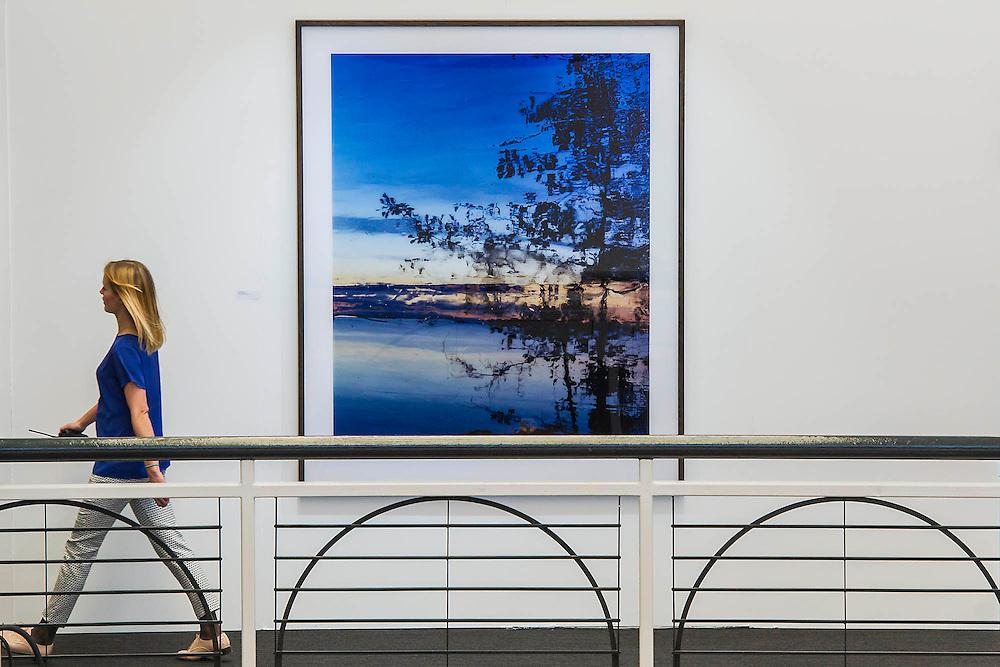 Icy Prospects by Jorma Puranen. London Art Fair opens at the Business Design Centre, Islington, London.