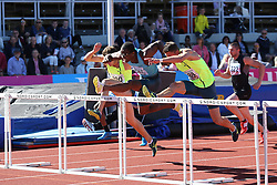 Dayron Robles competing in 110m hurdles at Folksam Grand Prix Göteborg, Slottskogsvallen, 14. juni 2014.