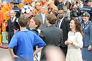 Koninginnedag 2010 . De Koninklijke familie in het zeeuwse  Middelburg. / Queensday 2010. De Royal Family in Middelburg.<br /> <br /> op de foto / on the photo
