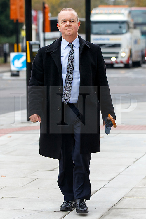 © Licensed to London News Pictures. 03/11/2015. London, UK. Ian Hislop attending a memorial service for ex-Liberal Democrat leader Charles Kennedy at St George's Cathedral in London on Tuesday, 3 November, 2015. Mr Kennedy died suddenly on June 1, 2015 at the age of 55 after suffering a major haemorrhage as a result of a long battle with alcoholism. Photo credit: Tolga Akmen/LNP