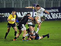 Rugby Union - 2020 / 2021 ER Challenge Cup - Quarter-final - Bath vs London Irish - The Recreation Ground<br /> <br /> Rob Simmons of London Irish<br /> <br /> Credit : COLORSPORT/ANDREW COWIE