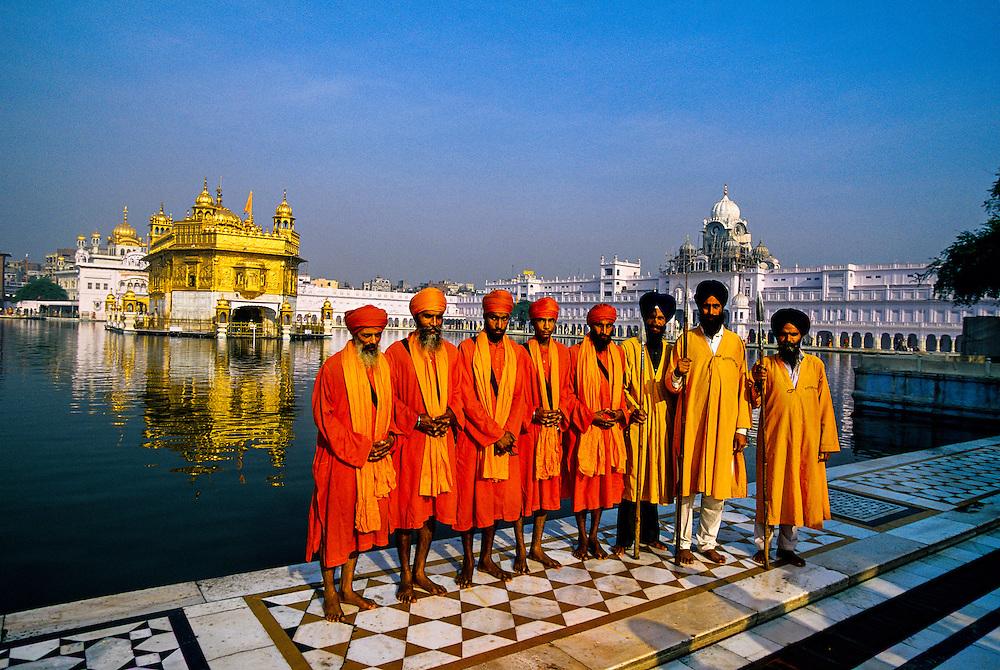 The Golden Temple (holiest Sikh shrine), Amritsar, Punjab, India