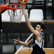 Efes Pilsen's Kerem GONLUM during their Turkish Basketball league derby match Besiktas between Efes Pilsen at the BJK Akatlar Arena in Istanbul Turkey on Saturday 30 April 2011. Photo by TURKPIX