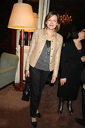 The COUNTESS OF WOOLTON at a party to celebrate the publication of Top Tips For Girls by Kate Reardon held at Claridge's, Brook Street, London on 28th January 2008.<br />