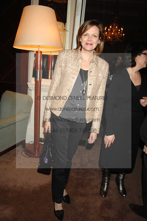 The COUNTESS OF WOOLTON at a party to celebrate the publication of Top Tips For Girls by Kate Reardon held at Claridge's, Brook Street, London on 28th January 2008.<br /><br />NON EXCLUSIVE - WORLD RIGHTS