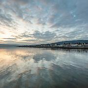 Last light, Helensburgh, Argyll and Bute, Scotland.