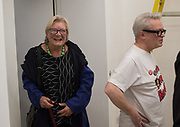 LYNN BARBER, Miss Sue Webster hosts the launch of her book <br /> 'I Was a Teenage Banshee' The Mole House , Dalston. 17 October 2019
