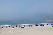 Morning scene at Avila Beach, California, USA.
