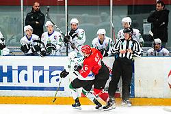 Alps League Ice Hockey match between HDD SIJ Jesenice and HK SZ Olimpija on January 2, 2021 in Ice Arena Podmezakla, Jesenice, Slovenia. Photo by Peter Podobnik / Sportida