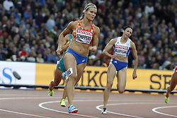 Netherlands's Dafne Schippers in the first round of the 200 meters women during the IAAF World Athletics 2017 Championships In Olympic Stadium, Queen Elisabeth Park, London, UK on August 8, 2017 Photo by Henri Szwarc/ABACAPRESS.COM