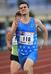 Runner Jost Kozan at 4th Memorial of Matic Sustersic and Patrik Cvetan athletic meeting of Grand Prix Vzajemna, on June 1, 2009, in ZAK, Ljubljana, Slovenia. (Photo by Vid Ponikvar / Sportida)