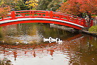 Shinsen-en Garden Bridge, Kyoto