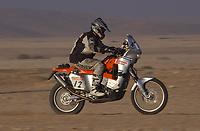 Motor - Paris Dakar 2003<br /> 17.01.2003<br /> Pål Anders Ullevålseter fra Norge<br /> Foto: Gilles Levent, Digitalsport
