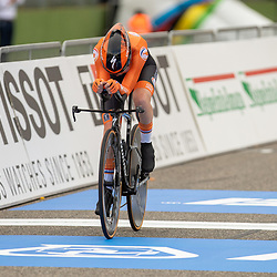 24-09-2020: wielrennen: WK tijdrit vrouwen: Imola  <br /> Anna van der Breggen