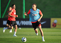 ARLAMOW, POLAND - MAY 30: Jan Bednarek during a training session of the Polish national team at Arlamow Hotel during the second phase of preparation for the 2018 FIFA World Cup Russia on May 30, 2018 in Arlamow, Poland. MB Media