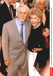 Kirk Douglas Dies At 103 - © Lionel Hahn/ABACA. 14159-7. Deauville, 05/09/99. Kirk Douglas with wife arrive at American Film Festival.
