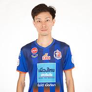 THAILAND - APRIL 11: Siwakorn Chakkuprasart #16 of Port FC on April 11, 2019.<br /> .<br /> .<br /> .<br /> (Photo by: Naratip Golf Srisupab/SEALs Sports Images/MB Media Solutions)