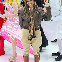 Ann Curry as Amelia Earhart during the annual Halloween Episode of NBC's The Today Show in New York City.
