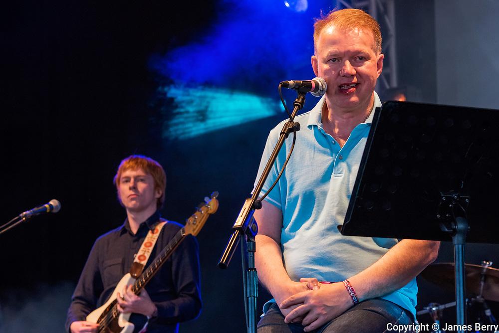Edwyn Collins performs live at the On Blackheath festival, London, on Sunday 11 September 2016.