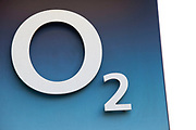 Sign for mobile phone shop O2.