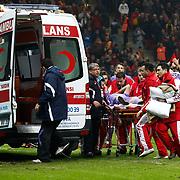 Orduspor's David Barral during their Turkish Superleague soccer match Galatasaray between Orduspor at the AliSamiyen Spor Kompleksi TT arena in Istanbul Turkey on Monday 25 February 2013. Photo by Aykut AKICI/TURKPIX