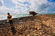 Shipwrecked in Gibara, Holguin, Cuba.