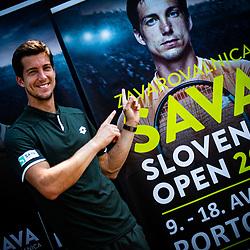 20190725: SLO, Tiskovna Konferenca ATP Portoroz 2019 z Aljazem Benedetom