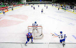 Friendly ice-hockey match between National teams of Slovenia and Kazakhstan, on April 12, 2011 at Hala Tivoli, Ljubljana, Slovenia. Kazakhstan defeated Slovenia 3-0.  (Photo By Vid Ponikvar / Sportida.com)