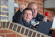 Chris Slavin during the EFL Sky Bet League 1 match between AFC Wimbledon and Doncaster Rovers at the Cherry Red Records Stadium, Kingston, England on 9 March 2019.