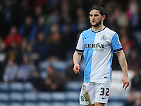 Blackburn Rovers' Craig Conway in action during todays match  <br /> <br /> Photographer Kevin Barnes/CameraSport<br /> <br /> Football - The FA Cup Fifth Round - Blackburn Rovers v Stoke City - Saturday 14th February 2015 -  Ewood Park - Blackburn<br /> <br /> © CameraSport - 43 Linden Ave. Countesthorpe. Leicester. England. LE8 5PG - Tel: +44 (0) 116 277 4147 - admin@camerasport.com - www.camerasport.com