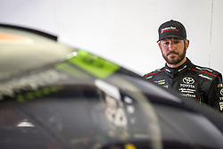 September 22, 2017 - Loudon, New Hampshire, United States of America - September 22, 2017 - Loudon, New Hampshire, USA: Martin Truex Jr (78) hangs out in the garage during practice for the ISM Connect 300 at New Hampshire Motor Speedway in Loudon, New Hampshire. (Credit Image: © Justin R. Noe Asp Inc/ASP via ZUMA Wire)