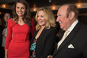 OLIVIA COLE; KIM CATTRALL; ANDREW NEIL , Spectator Life - 3rd birthday party. Belgraves Hotel, 20 Chesham Place, London, SW1X 8HQ, 31 March 2015