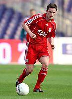 Photo: Maarten Straetemans.<br /> Shanghai Shenhua v Liverpool. Rotterdam Tournament. 03/08/2007.<br /> Stephen Finnan (Liverpool)
