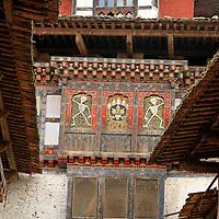 Asia, Bhutan, Wangdue. Wangdu Phodrang Dzong.