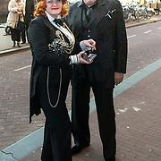NLD/Amsterdam /20130403 - 125 jarig jubileum Carre, Jan Aarntzen en partner ?..