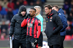 """AFC Bournemouth's Jermain Defoe during the Premier League match at the Vitality Stadium, Bournemouth. PRESS ASSOCIATION Photo. Picture date: Saturday March 17, 2018. See PA story SOCCER Bournemouth. Photo credit should read: Mark Kerton/PA Wire. RESTRICTIONS: EDITORIAL USE ONLY No use with unauthorised audio, video, data, fixture lists, club/league logos or """"live"""" services. Online in-match use limited to 75 images, no video emulation. No use in betting, games or single club/league/player publications."""
