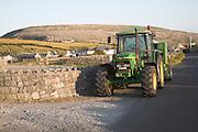 Rural landscape of the Burren, Fanore, County Clare, Ireland
