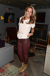 TARA BERNERD at the Launch of Pont St Restaurant at Belgraves Hotel, 20 Chesham Place, London SW1 on 10th September 2013.