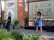 "Musicians Duran (L) and Carley from Radio Disney ""N.B.T.""..2011 Celebrity Picnic Sponsored By Disney, Time For Heroes, To Benefit The Elizabeth Glaser Pediatric AIDS Foundation - Inside..Wadsworth Theater Lawn..Los Angeles, CA, USA..Sunday, June 12, 2011..Photo By CelebrityVibe.com..To license this image please call (212) 410 5354; or.Email: CelebrityVibe@gmail.com ;.website: www.CelebrityVibe.com"