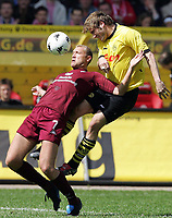 v.l. Marian Hristov, Torsten Frings BVB<br /> Bundesliga 1. FC Kaiserslautern - Borussia Dortmund