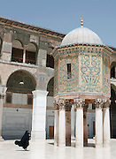 The Dome of the Treasury in the Umayyad Mosque, the Great Mosque of Damascus, Damascus, Syria