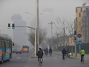 bicycling to work Beijing China