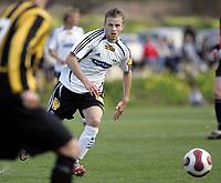 Fotball / Football<br /> La Manga Cup 2007 - Spain<br /> 23.02.2007<br /> Rosenborg v KR Reykjavik Island 1-0<br /> Foto: Morten Olsen, Digitalsport<br /> <br /> Marek Sapara - RBK